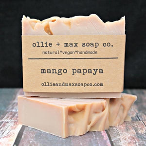 Mango Papaya Vegan Soap