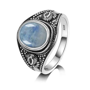 Vintage Rainbow Moonstone Ring
