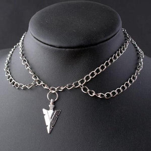 Witchcraft Pendants Double Chain Necklace