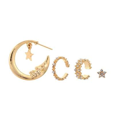 My Moon and Stars Earrings Set