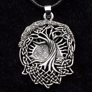 Celtics Tree of Life Pendant Necklace