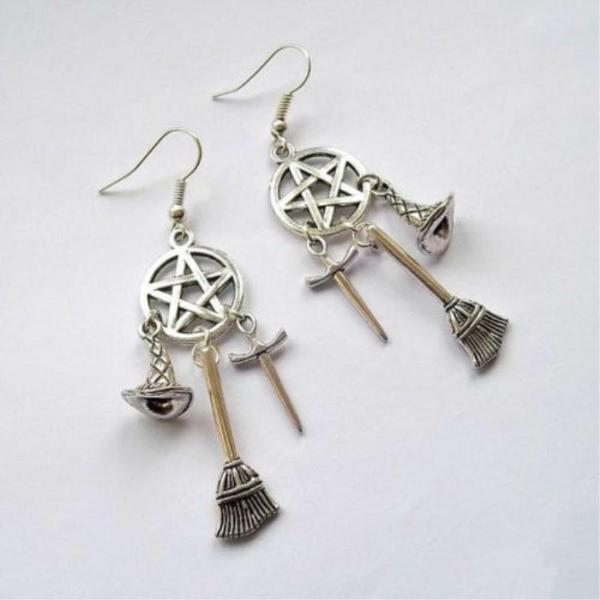 Witch tools earrings