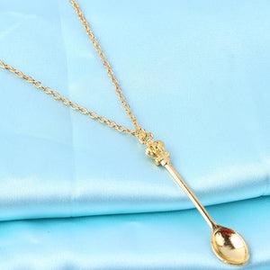 Royal Witchy Mini Tea Spoon Pendant Necklace