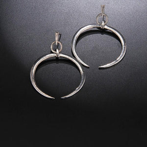 Bohemian Style Moon Earrings