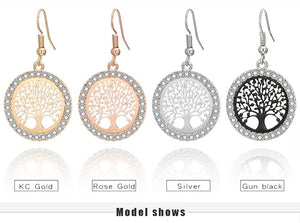 Elegant Tree of Life Earrings