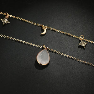 Celestial Drop Double Choker