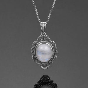 Victorian Moonstone Necklace
