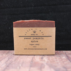 Sweet Pumpkin Spice Vegan Soap