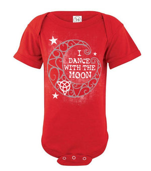I dance with the moon - Baby onesie