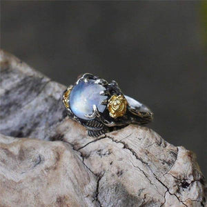 Enchanted Garden Moonstone Ring