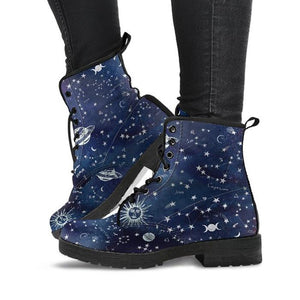 Astrology Map - Vegan Boots.