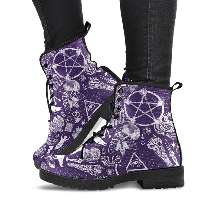 Witch Essentials - Vegan Boots.