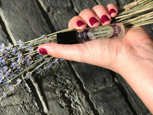 Black Amber and Lavender Vegan Perfume Oil