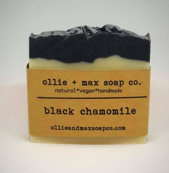 Black Chamomile Vegan Soap