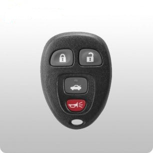 GM, Buick, Chevrolet, Pontiac, Saturn 2005-2012 4-Btn Remote - FCC ID: KOBGT04A - ZIPPY LOCKSHOP