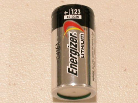 Lithium CR123A 3V Photo Lithium Batteries - ZIPPY LOCKSHOP