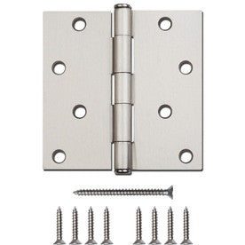 Exterior 4 hole Door Hinge-3 Styles- 4 colors - ZIPPY LOCKSHOP