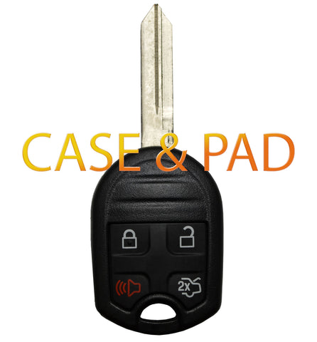 2011 - 2015 Ford Shell & Pad 4 Button - ZIPPY LOCKSHOP