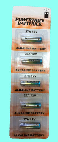 Battery 27A 12V (Alkline) (blister pack ) - ZIPPY LOCKSHOP