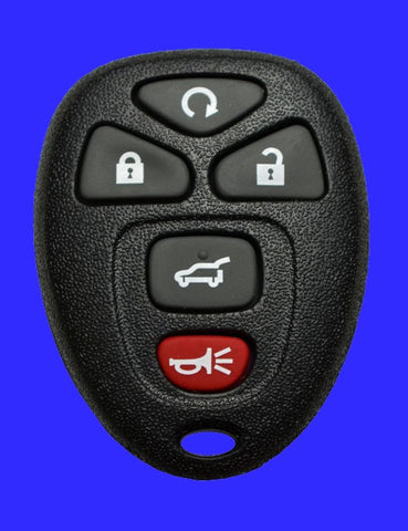 5 Button GM Remote Fob SHELL