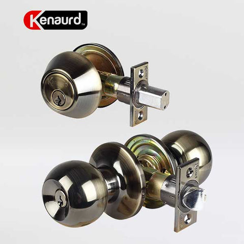 Kenaurd - Grade 3 - Combination Knob and Deadbolt