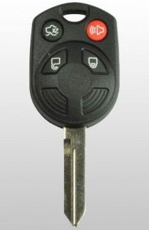 4 Button Remote Key for Ford OUC6000022 (164-R7040) REFURBISHED OEM - ZIPPY LOCKSHOP