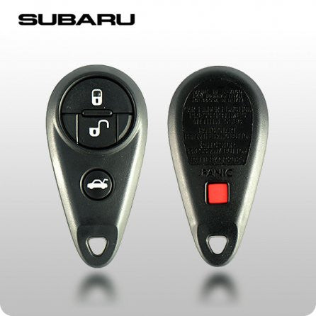 Subaru 1999-2007 4-Button Remote (NHVWB1U711) Original - ZIPPY LOCKSHOP