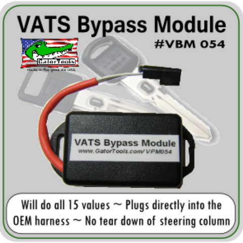 Vats Ignition Bypass Module