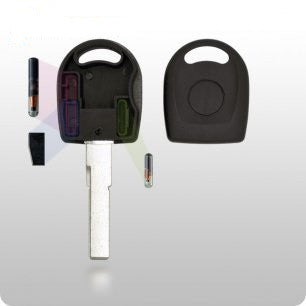 AUDI/VW Transponder Key SHELL - HU66 Style - ZIPPY LOCKSHOP