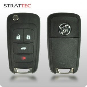 Buick 2010-2015 4-Button PEPS / Prox Remote (STRATTEC 5912558) - ZIPPY LOCKSHOP