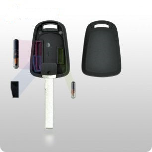 GM Transponder Key SHELL - GM45 / Pontiac G8 Style - ZIPPY LOCKSHOP