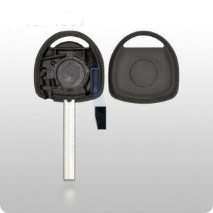 GM Transponder Key SHELL - HU100 Style ROUND - ZIPPY LOCKSHOP