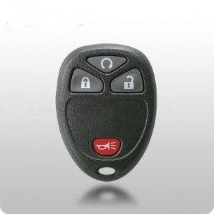 GM TYPE-2 4-Button Remote SHELL & PAD - ZIPPY LOCKSHOP