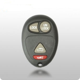 GM 2001-2011 4-Button Remote (FCC ID: L2C0007T) - ZIPPY LOCKSHOP