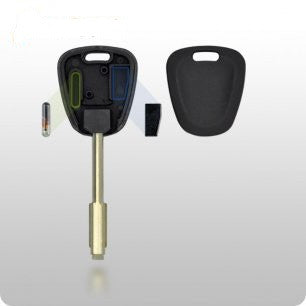 Jaguar Transponder Key SHELL - 8-Cut Tibbe Style - ZIPPY LOCKSHOP