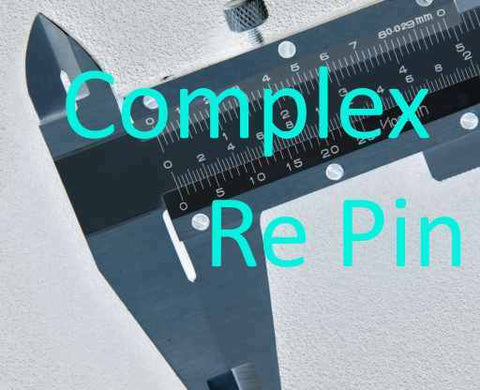 Re Key / Re-pin Complex Cylinder