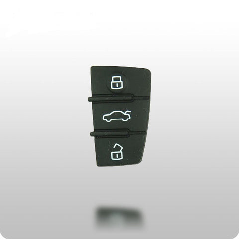 Audi 3-Button Remote Replacement Buttons - ZIPPY LOCKSHOP