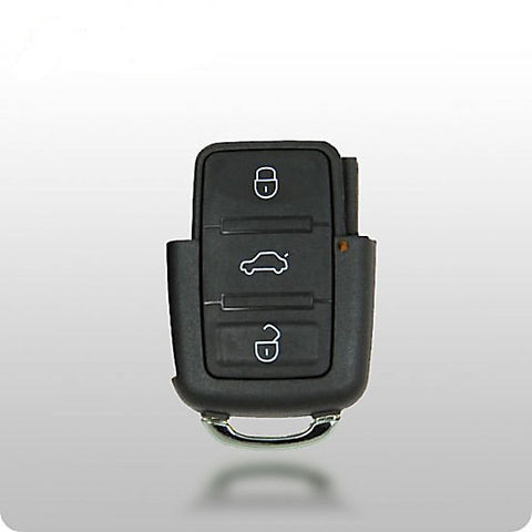 VW 3-Button Remote (753T 1998-2001) SQUARE BUTTONS (Remote Only) - ZIPPY LOCKSHOP