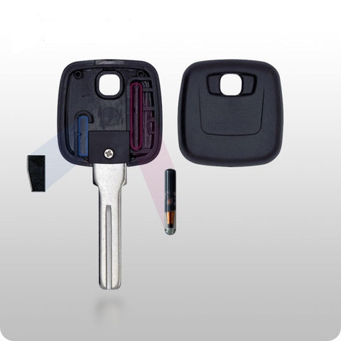 Volvo Transponder Key SHELL - S66NN-P Style - ZIPPY LOCKSHOP
