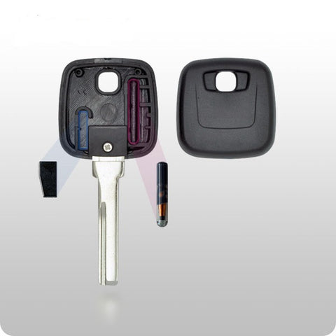 Volvo Transponder Key SHELL - HU56 Style - ZIPPY LOCKSHOP
