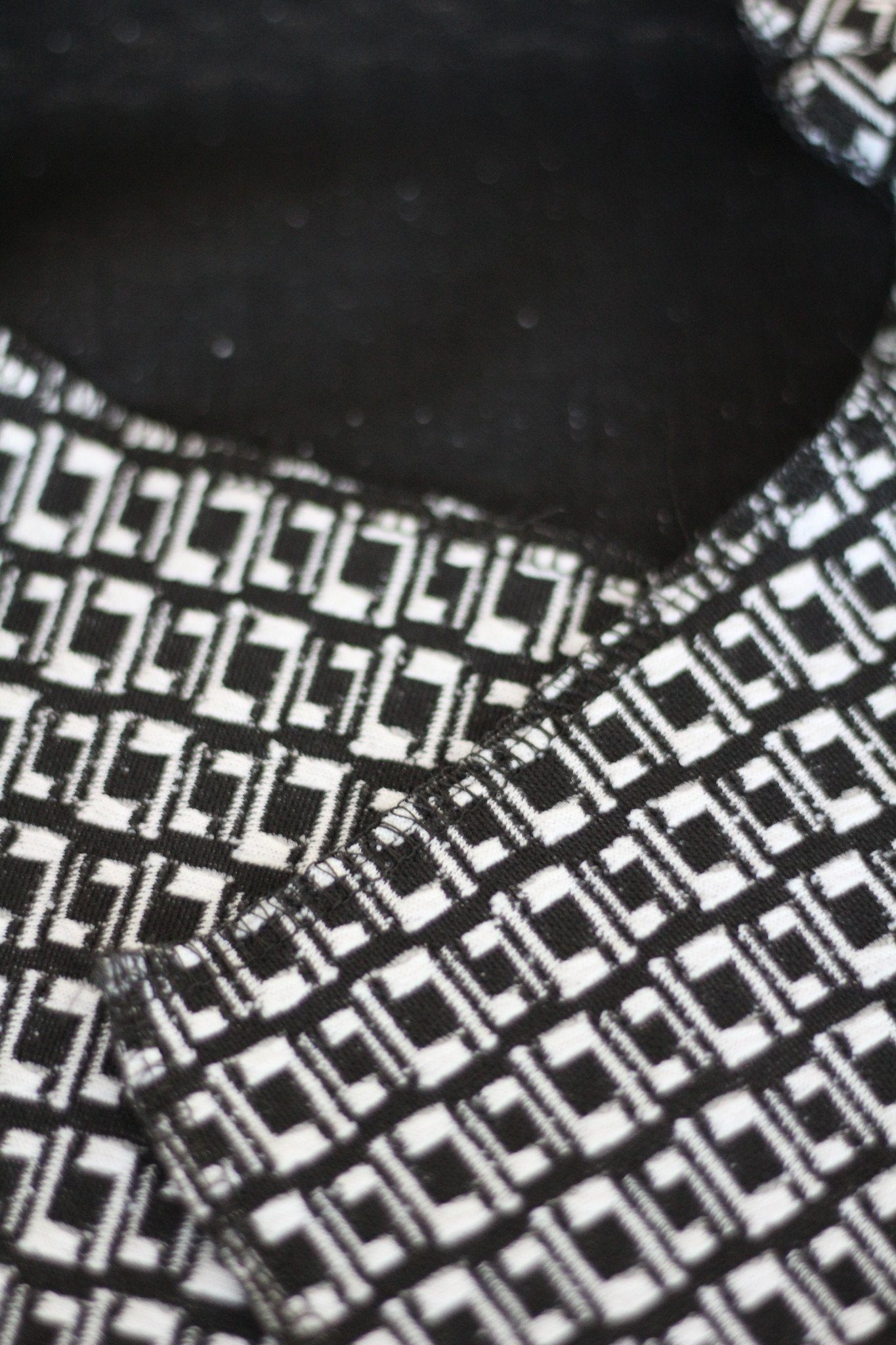 Cardigan Wrap - Black & White Cardigan Set For Mother And Daughter