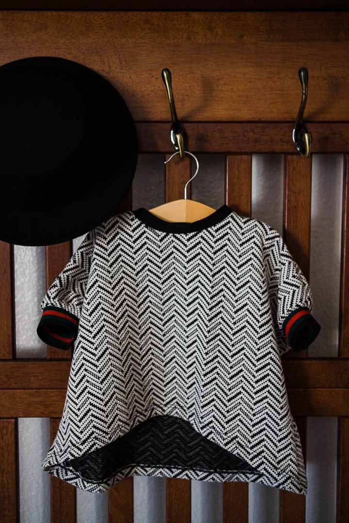 Children's Sets - Herringbone Set Toddler | Ivory & Black