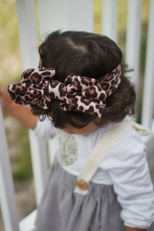 Head Wrap - Cheetah Headband For Baby Girl And Mom