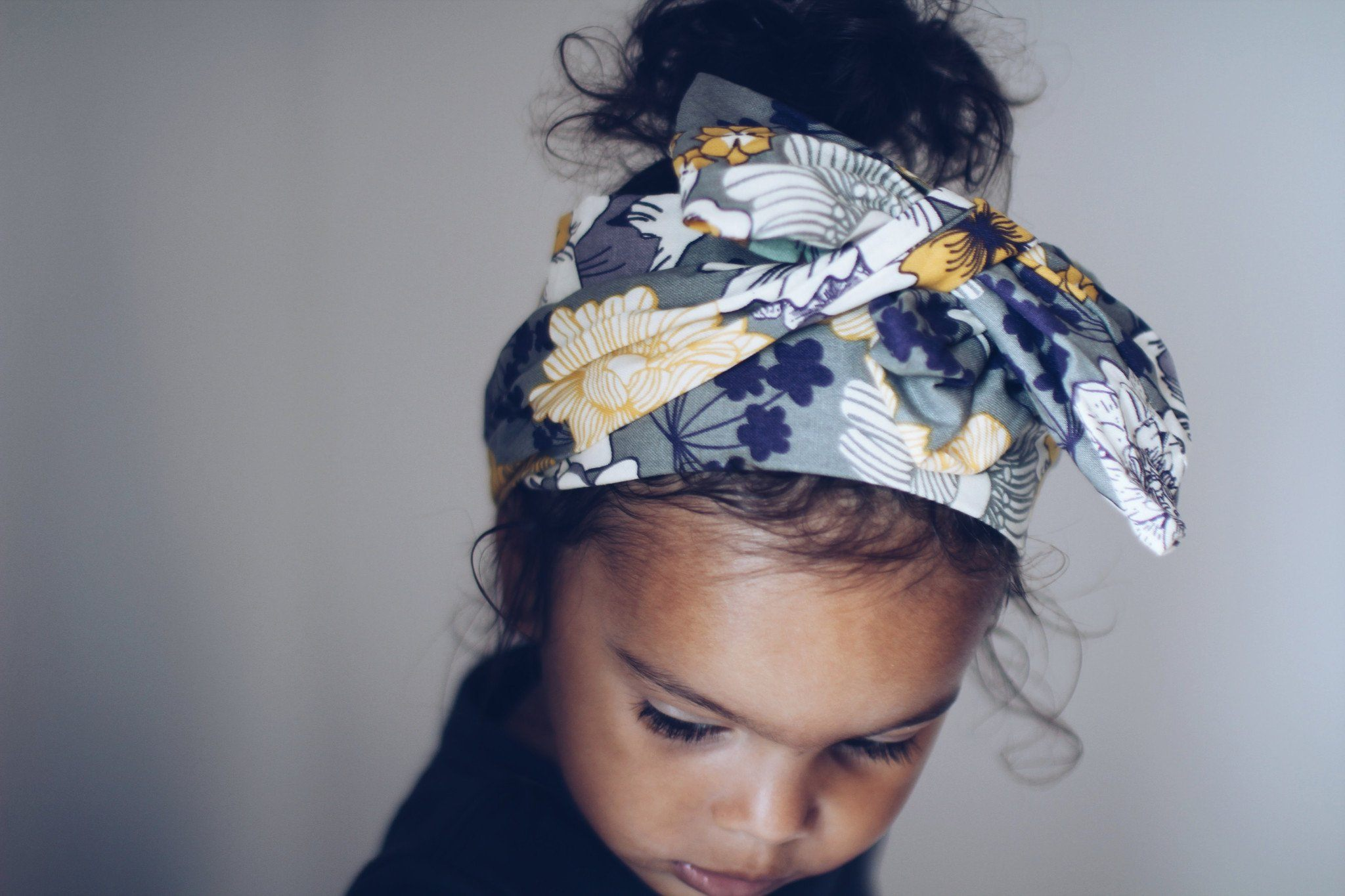 Head Wrap - Floral Headwrap For Baby Girl