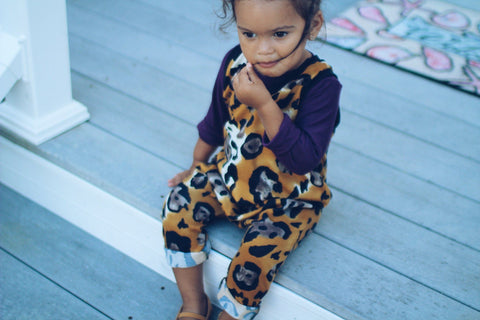 Animal Print Baby Leggings