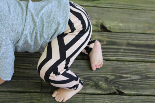 Leggings - Brown & Black Baby Tights/Leggings