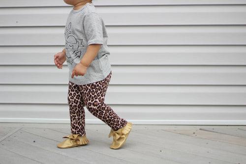 Leggings - Cheetah Print Pants For Toddler Girls
