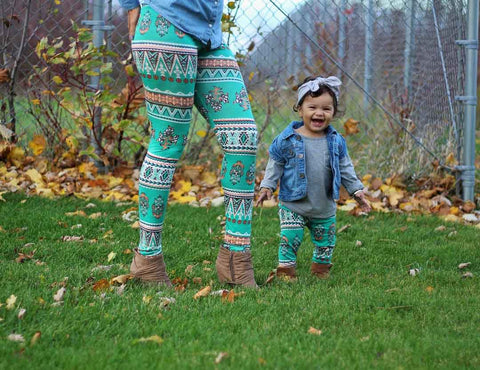 Mommy and Me Long Floral Cardigan - White Tulips