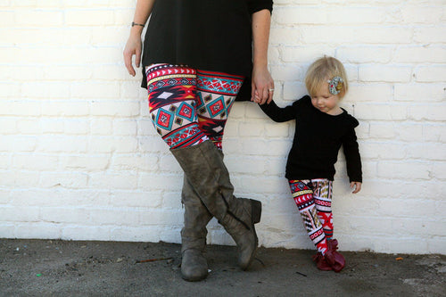Leggings - Mommy And Me Outfits Infant - Colorful Leggings