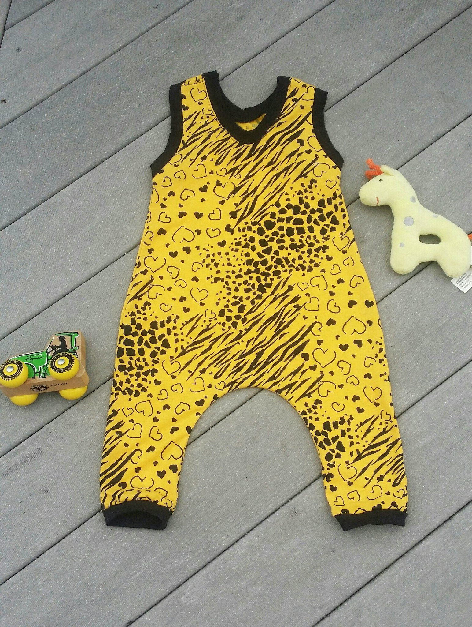 Romper - Yellow Romper For Toddlers